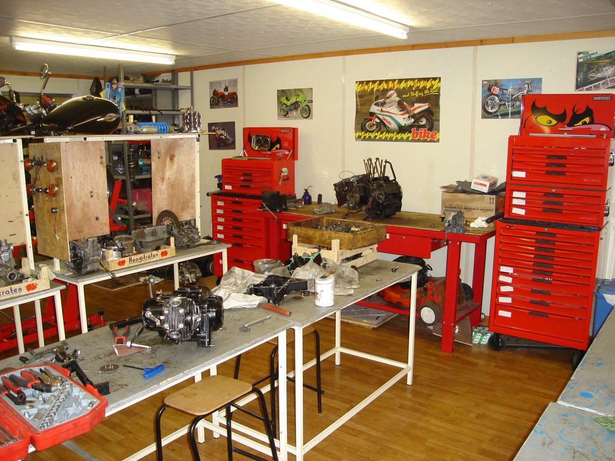 Night School Motorbike Maintenance Larkin Community College